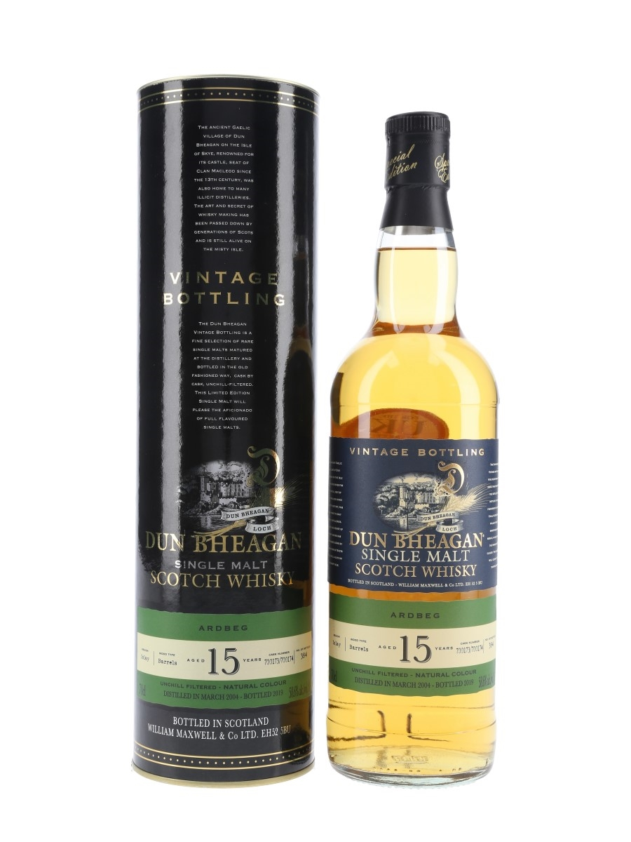 Ardbeg 2004 15 Year Old Bottled 2019 - Dun Bheagan 70cl / 58.6%