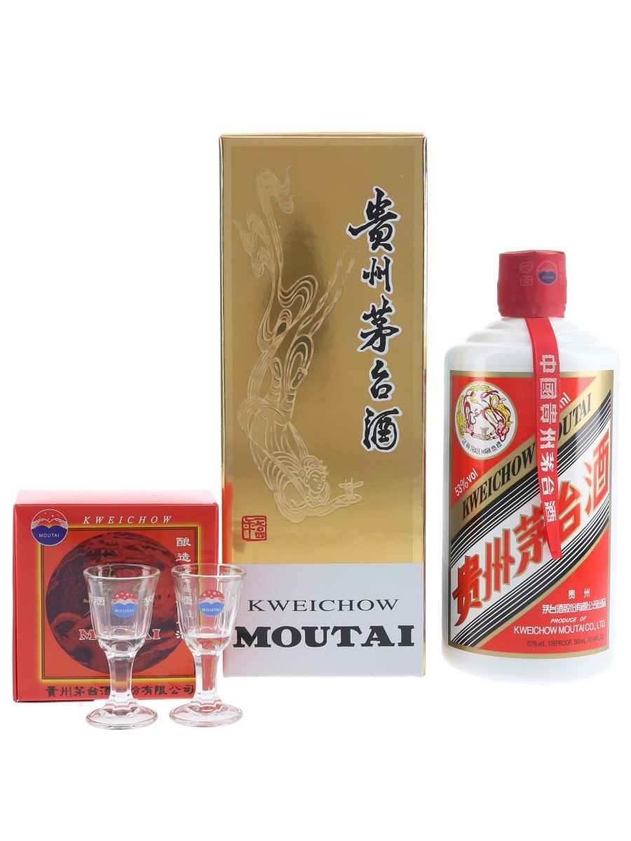 Kweichow Moutai 2018 Baijiu 50cl / 53%