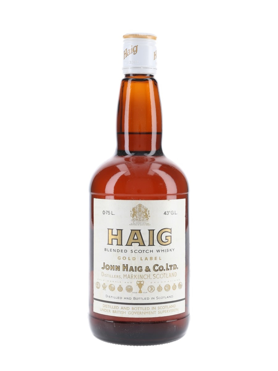 Haig's Gold Label Bottled 1980s 75cl / 43%