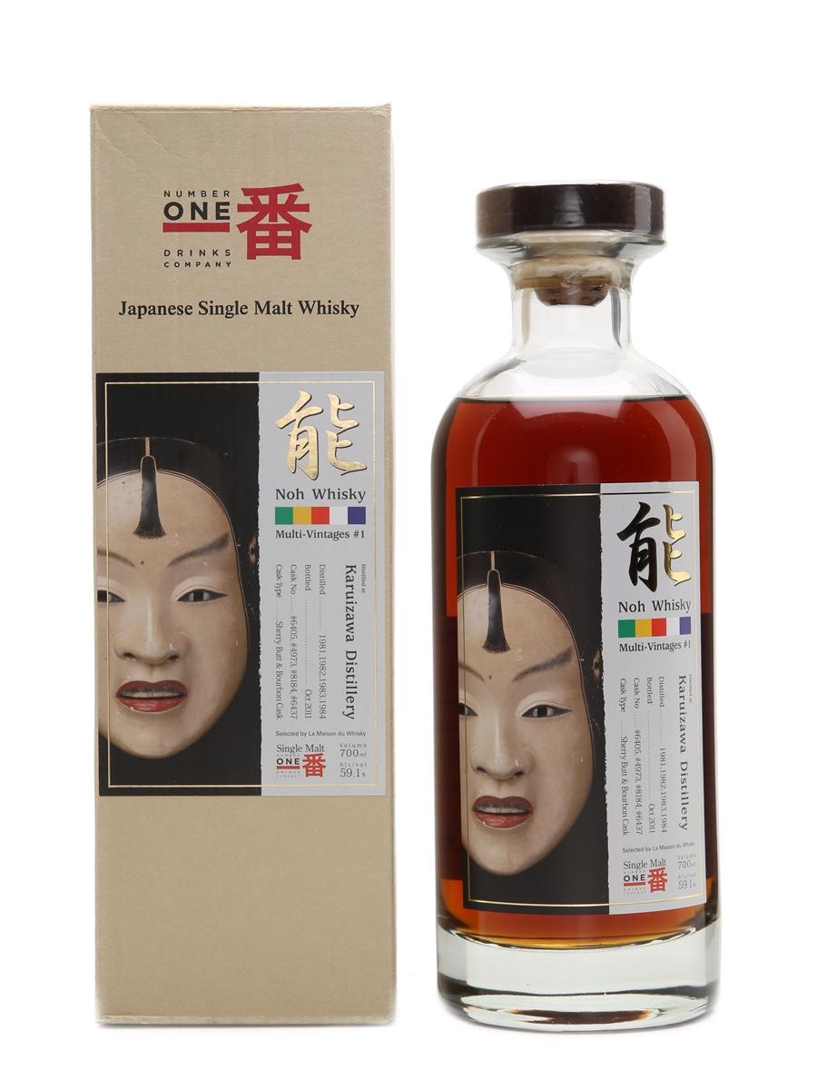 Karuizawa Noh Multi-Vintages #1 LMdW 70cl / 59.1%