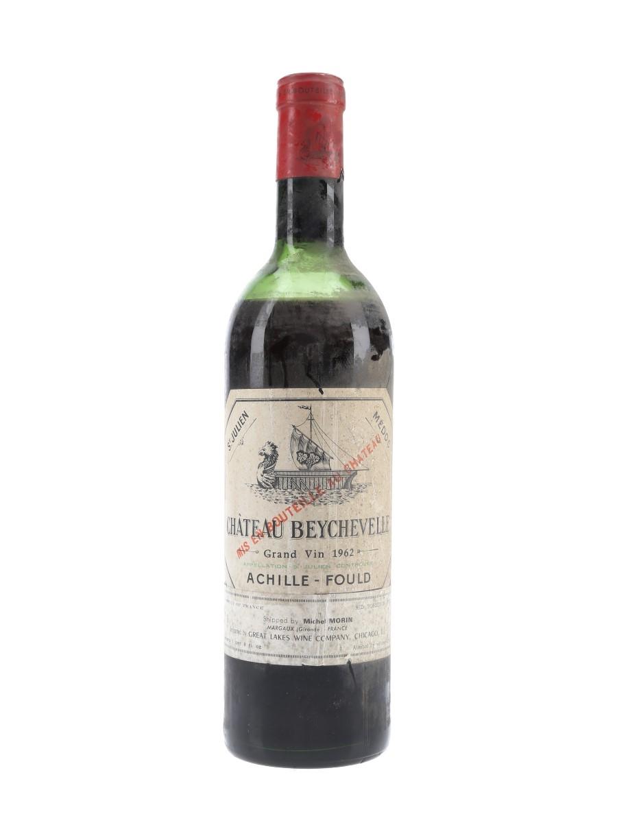 Chateau Beychevelle 1962 Quatrieme Cru - Saint Julien 72cl / 12%