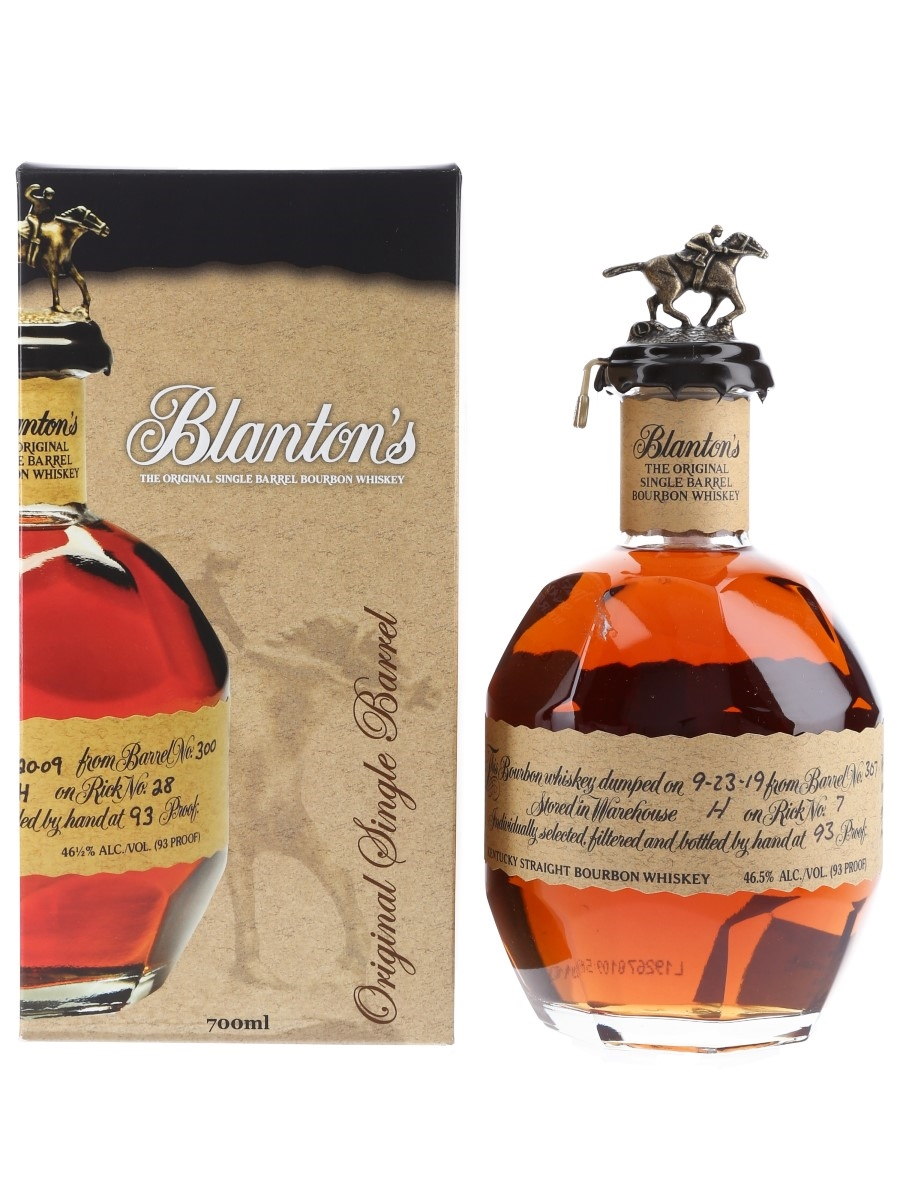 Blanton's Original Single Barrel No. 307 Bottled 2019 70cl / 46.5%