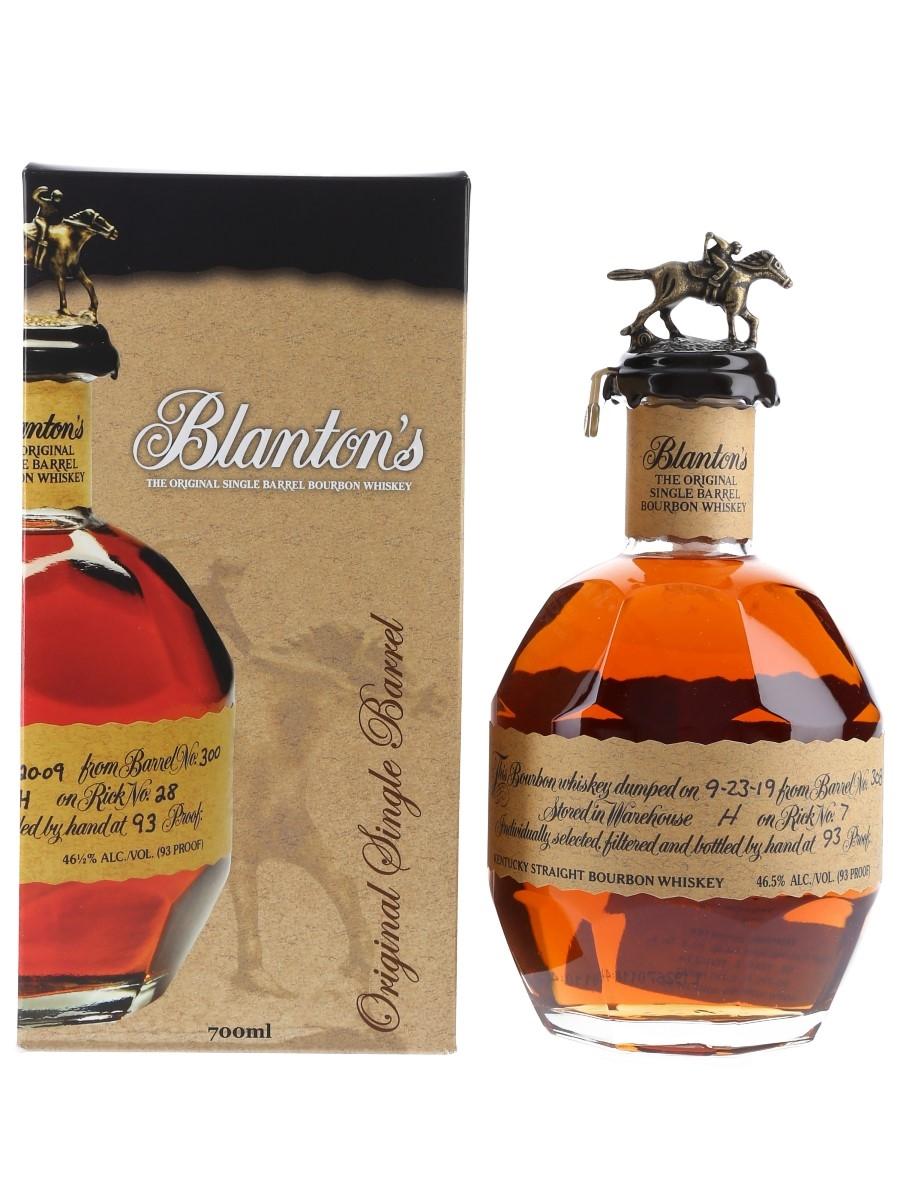 Blanton's Original Single Barrel No. 308 Bottled 2019 70cl / 46.5%