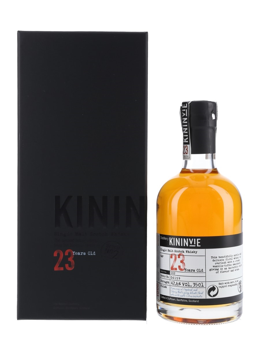Kininvie 1990 23 Year Old Second Release Batch No. 002 35cl / 42.6%