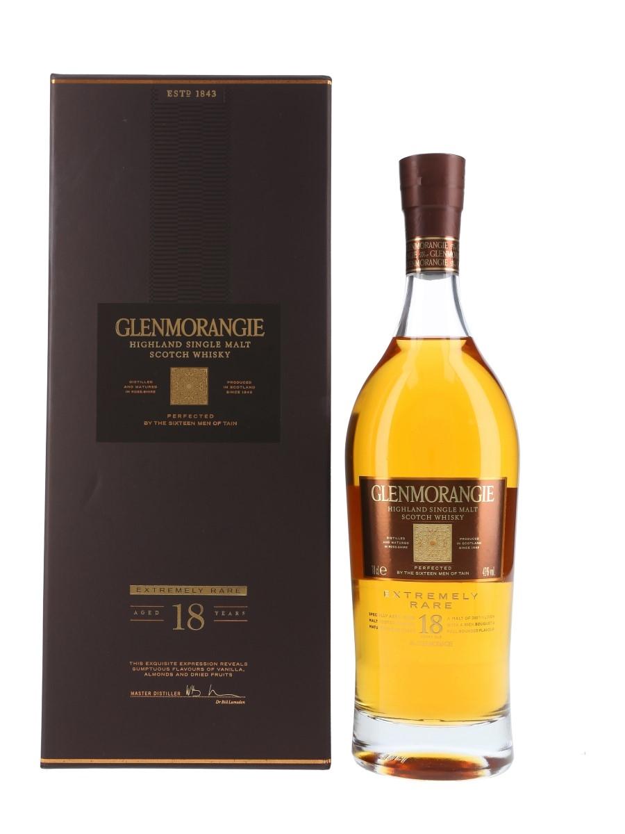 Glenmorangie 18 Year Old Extremely Rare Bottled 2016 70cl / 43%