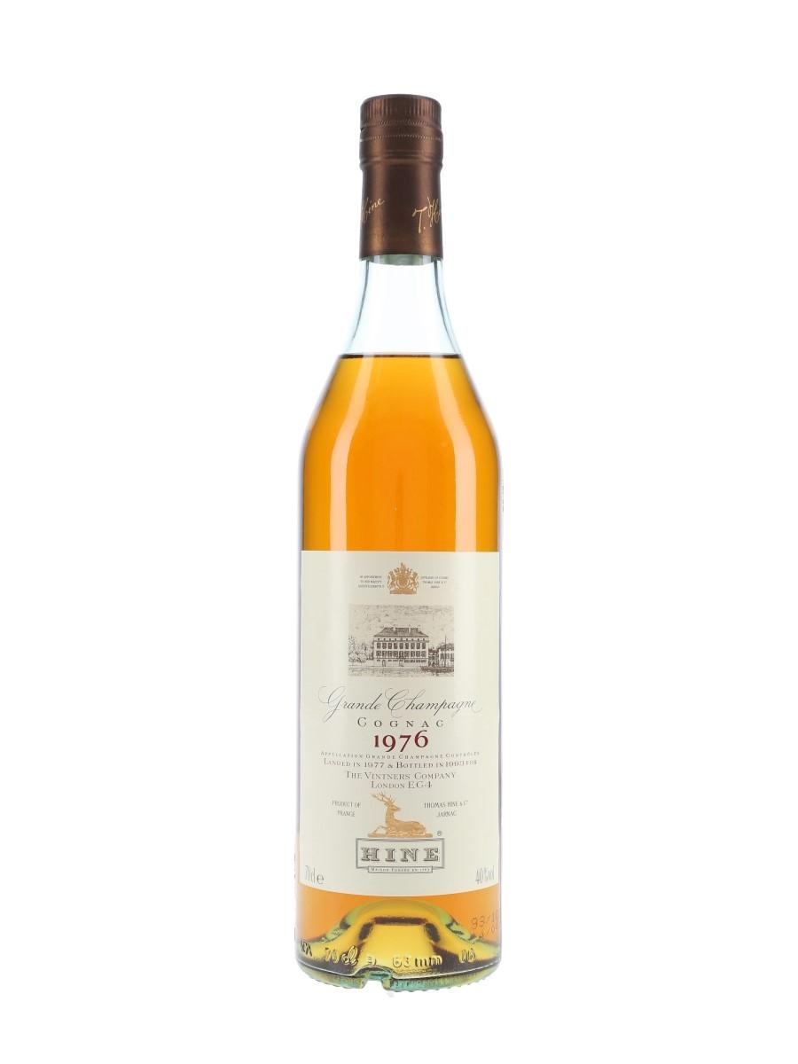 Hine 1976 Grande Champagne Cognac Landed 1977, Bottled 1993 - The Vintners' Company 70cl / 40%
