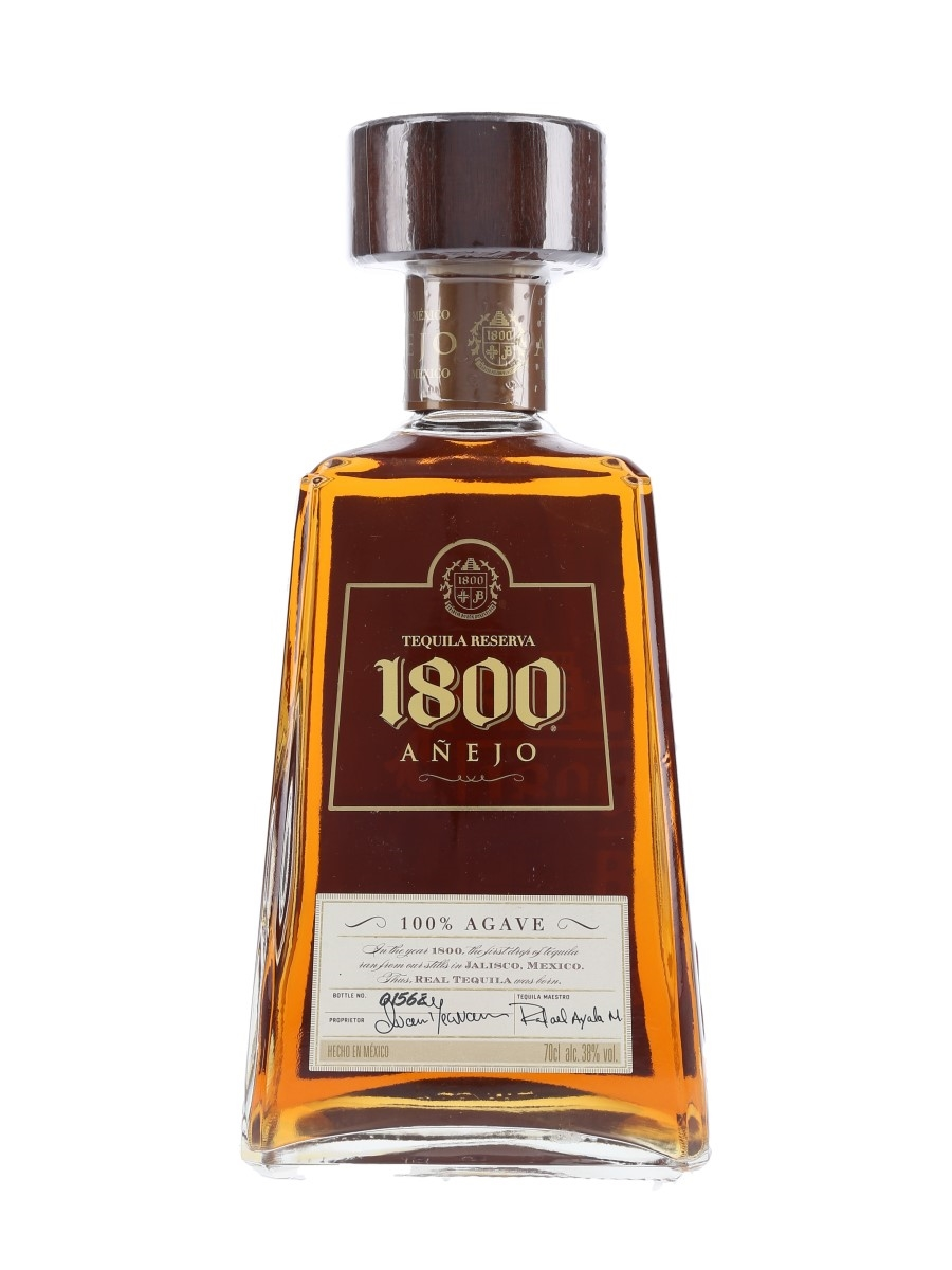 1800 Anejo Tequila Reserva Numbered Bottle 70cl / 38%