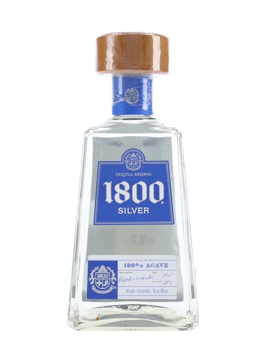 1800 Silver Tequila Reserva  70cl / 38%