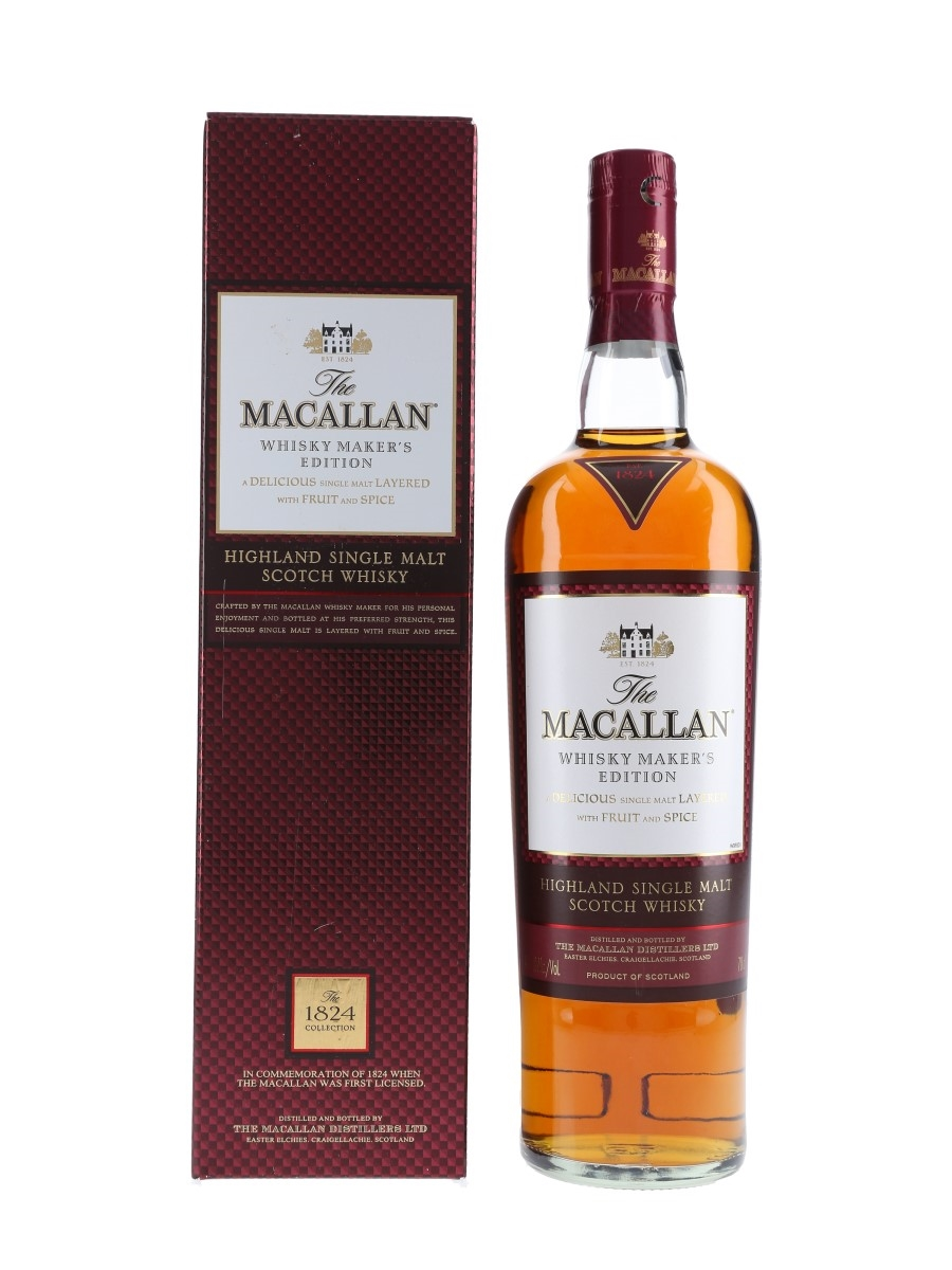 Macallan Whisky Maker's Edition The 1824 Collection 70cl / 42.8%