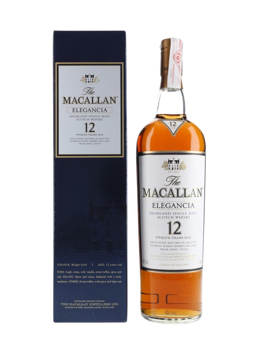 Macallan Elegancia 12 Year Old  100cl / 40%