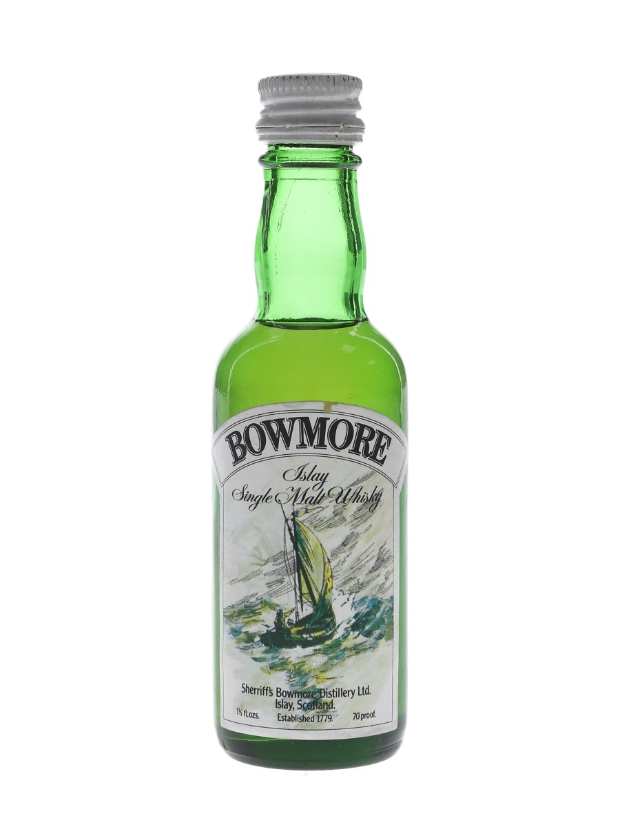 Bowmore Sherriff's Bottled 1970s 4.7cl / 40%