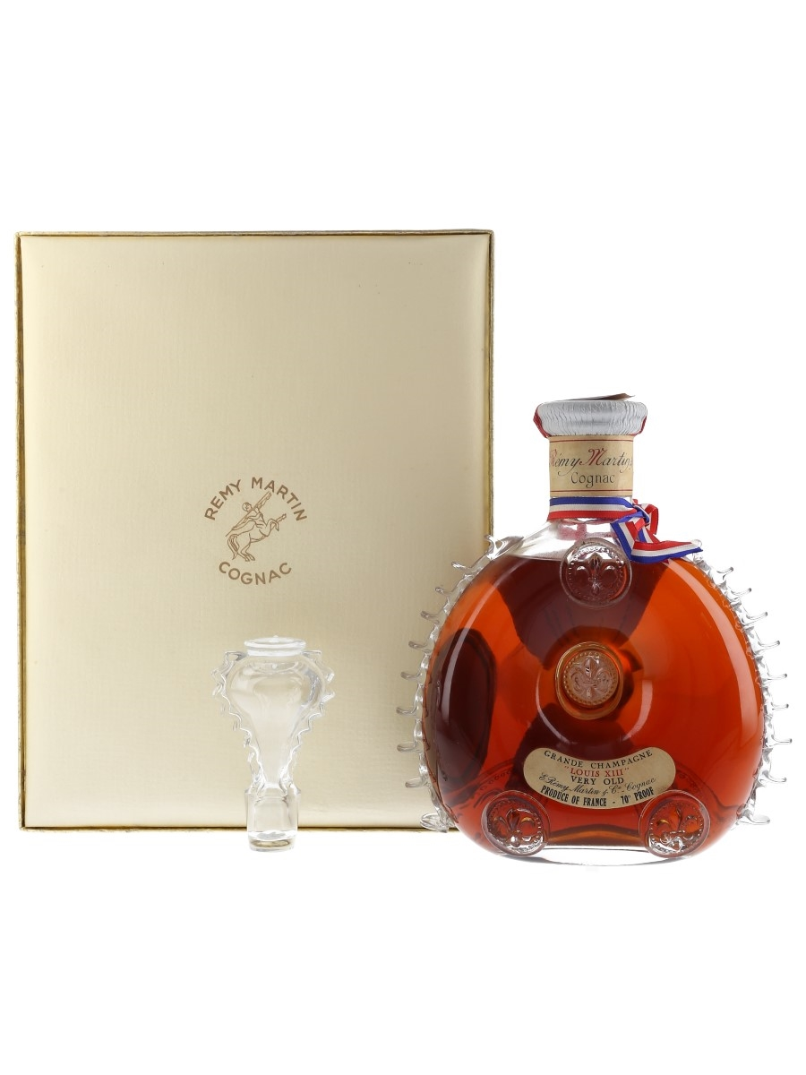 Remy Martin Louis XIII Very Old Bottled 1962-1963 - Baccarat Crystal 70cl / 40%