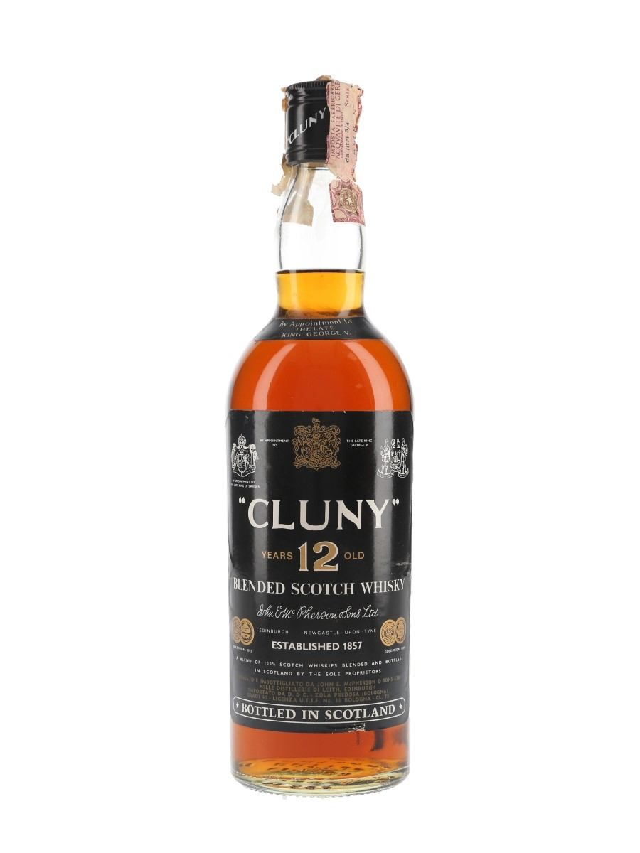 Cluny 12 Year Old Bottled 1970s - D&C 75cl / 40%