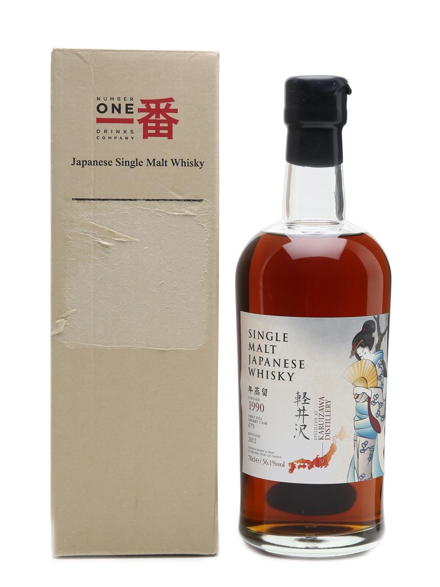 Karuizawa 1990 Cask #679 Bottled 2012 70cl / 56.1%