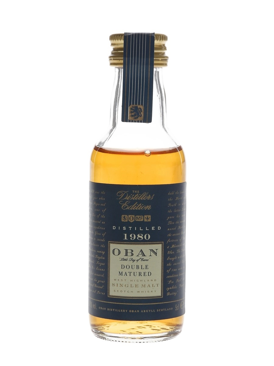 Oban 1980 Distillers Edition Double Matured 5cl / 43%