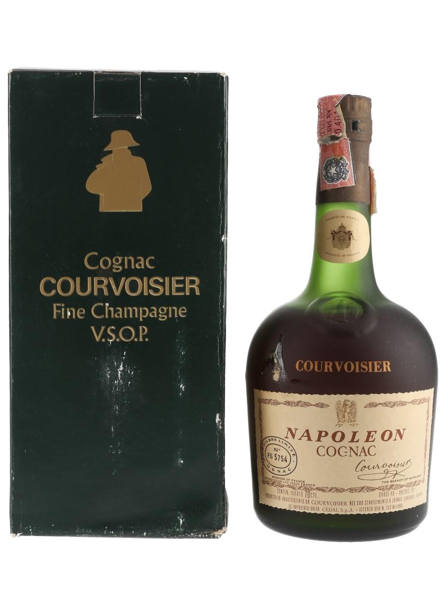 Courvoisier Napoleon Bottled 1960s-1970s - Numbered Bottle 70cl / 40%