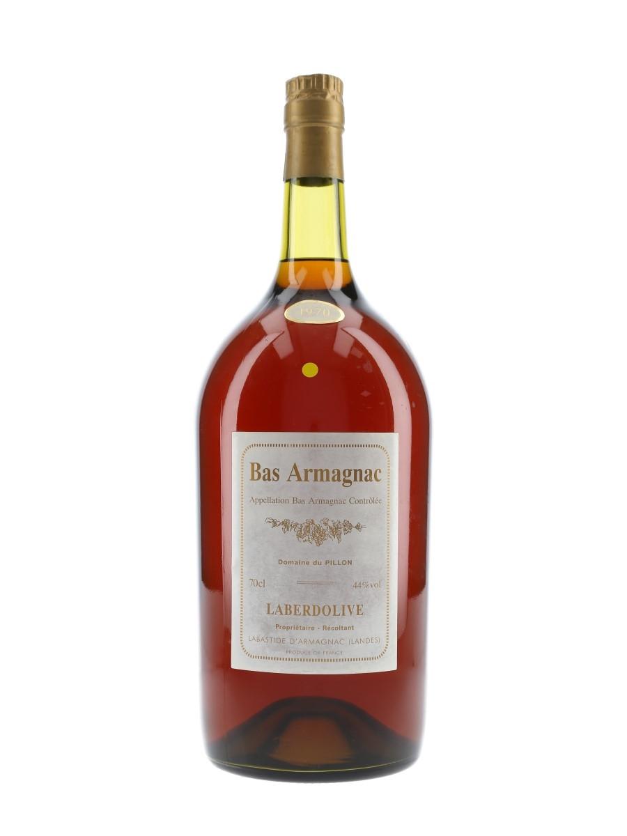 Laberdolive 1970 Bas Armagnac Domaine Du Pillon - Large Format 250cl / 44%