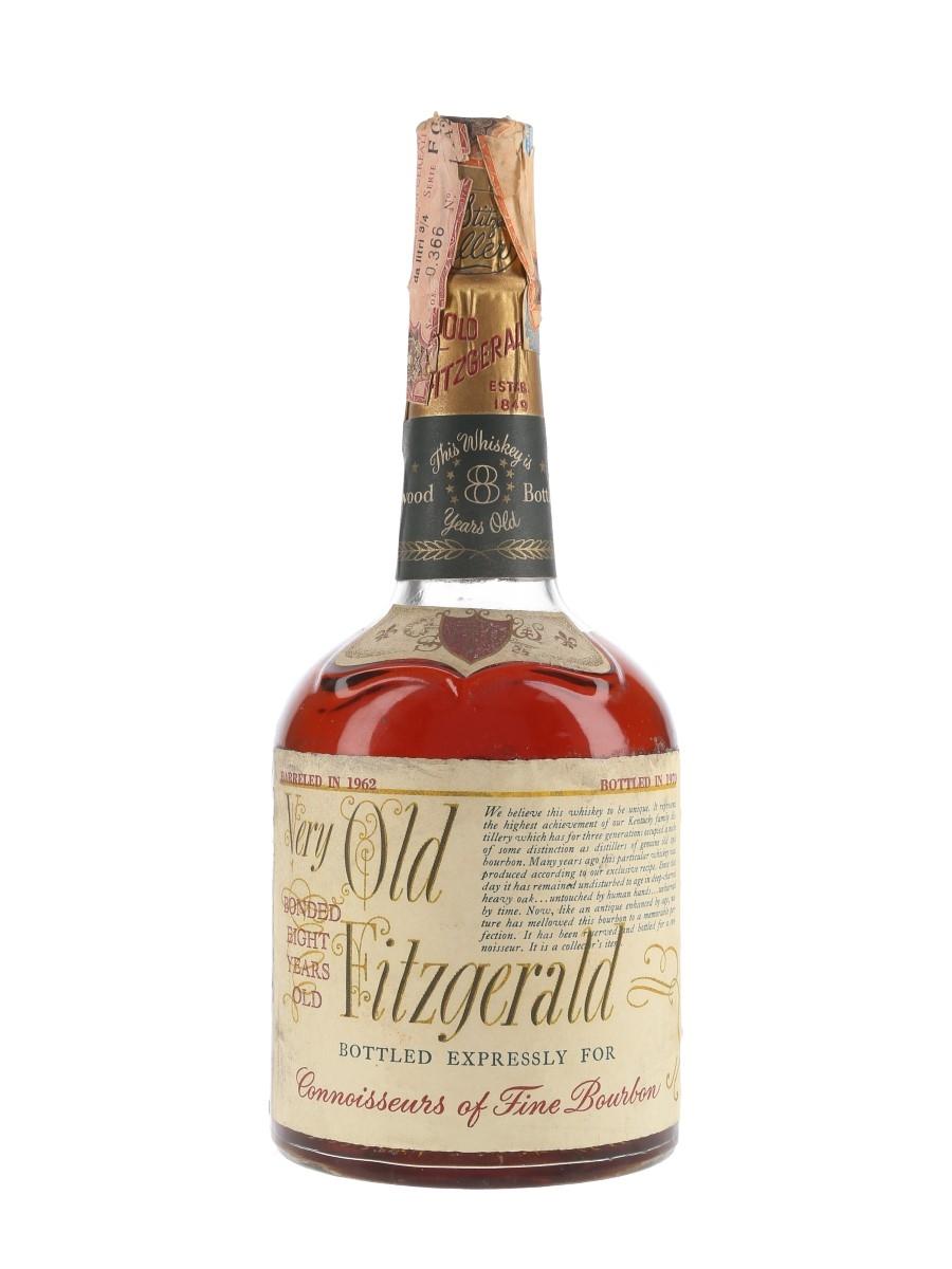 Very Old Fitzgerald 8 Year Old 1962 Bottled 1970 - Stitzel-Weller 75cl / 45%
