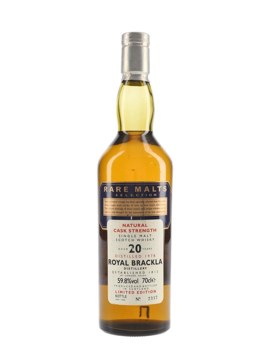 Royal Brackla 1978 20 Year Old Bottled 1998 - Rare Malts Selection 70cl / 59.8%