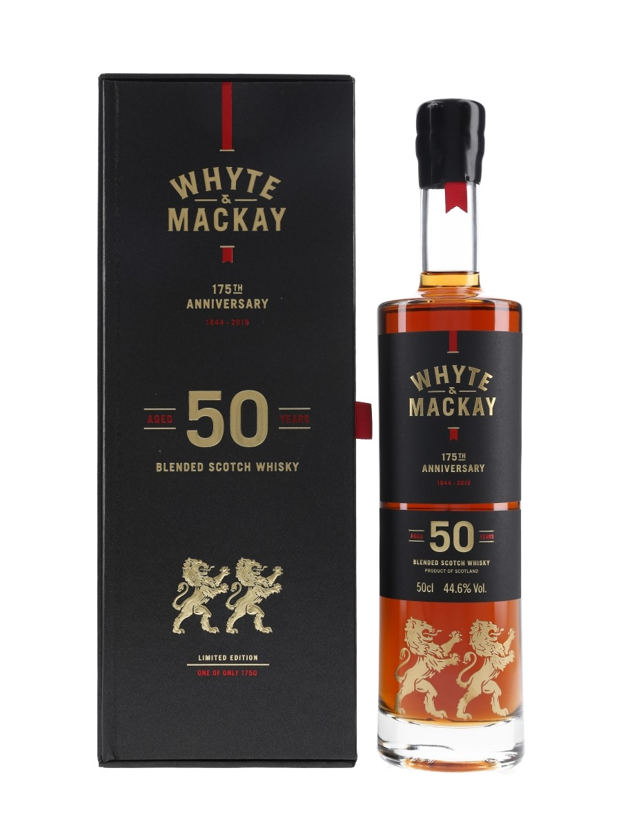 Whyte & Mackay 1966 50 Year Old Bottled 2019 - 175th Anniversary 50cl / 44.6%