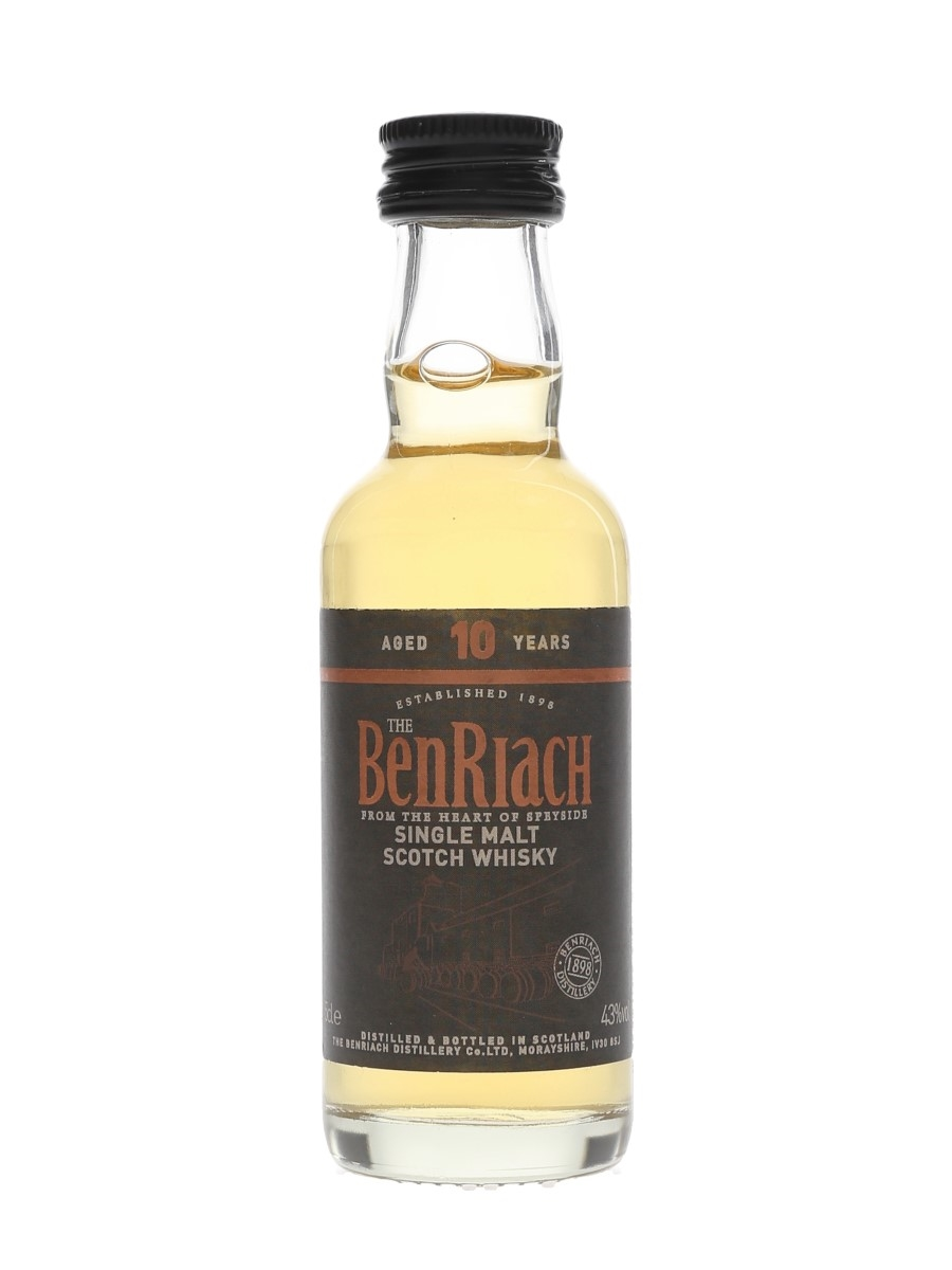 Benriach 10 Year Old  5cl / 43%