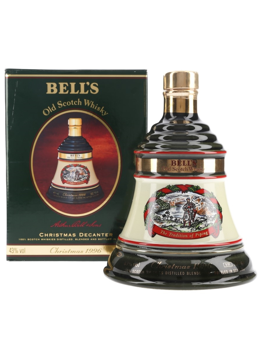 Bell's Christmas 1996 Ceramic Decanter The Tradition of Piping - South African Market 75cl / 43%