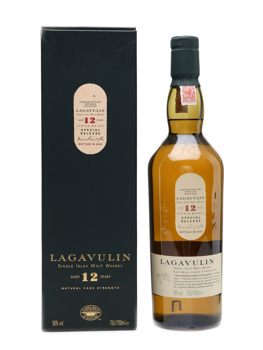 Lagavulin 12 Year Old Natural Cask Strength Special Releases 2002 - 1st Release 70cl