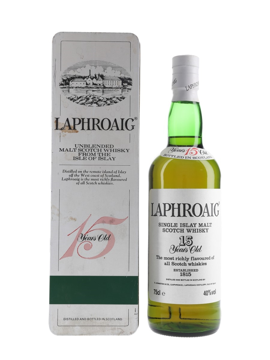 Laphroaig 15 Year Old Bottled 1980s 75cl / 40%