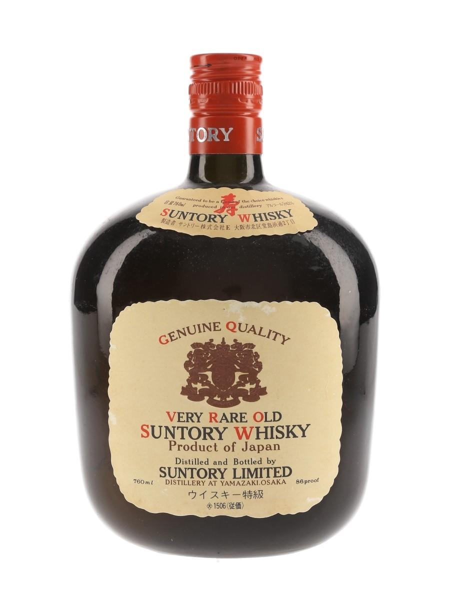 Suntory Very Rare Old Whisky Bottled 1980s 76cl / 43%