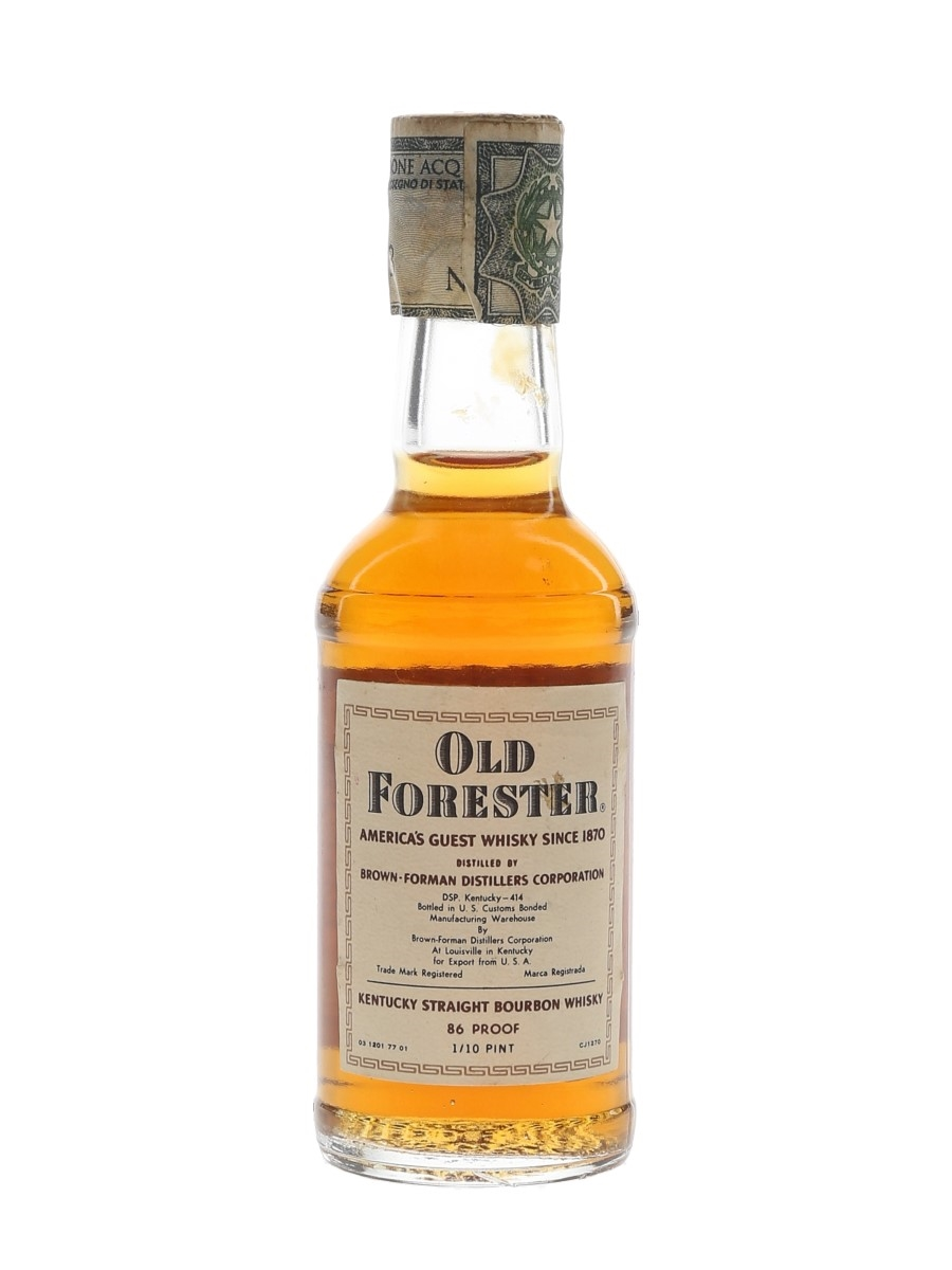 Old Forester Bottled 1970s 4.7cl / 43%