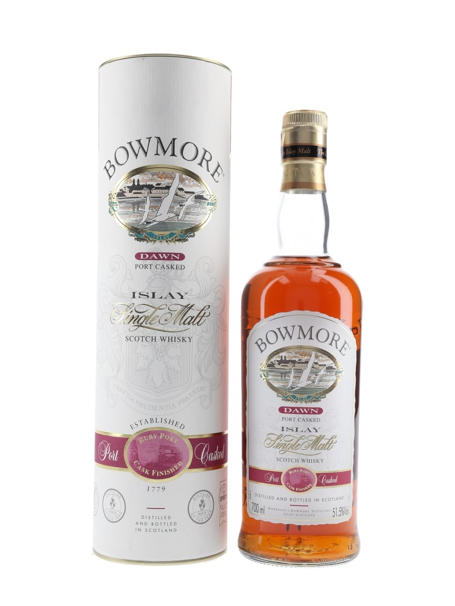 Bowmore Dawn Bottled 2000s - Ruby Port Cask Finish 70cl / 51.5%