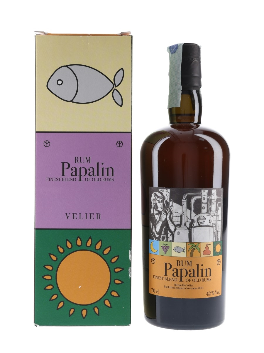 Papalin Finest Blend Of Old Rums Bottled 2013 - Velier 70cl / 42%