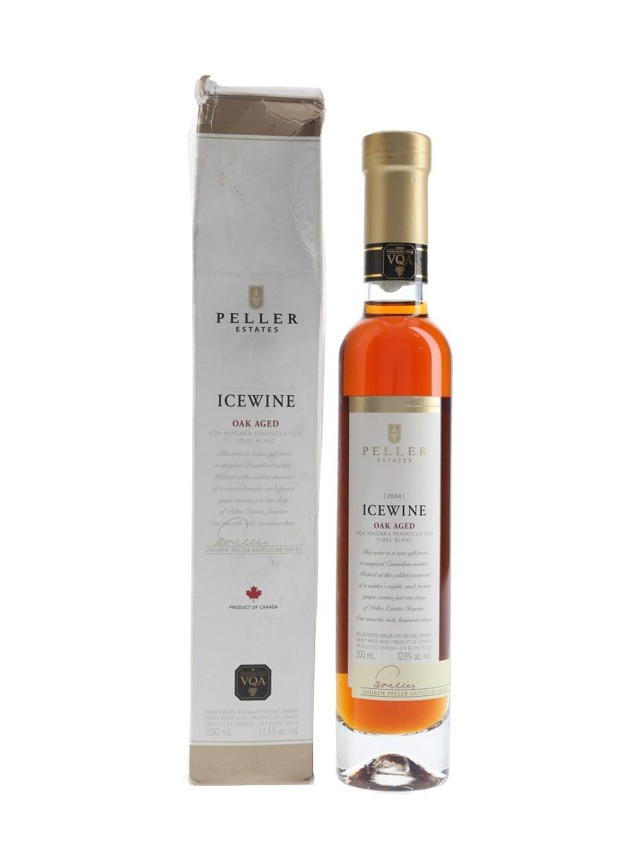 Peller Estates 2004 Oak Aged Ice Wine Andrew Peller Signature Series 20cl / 12%