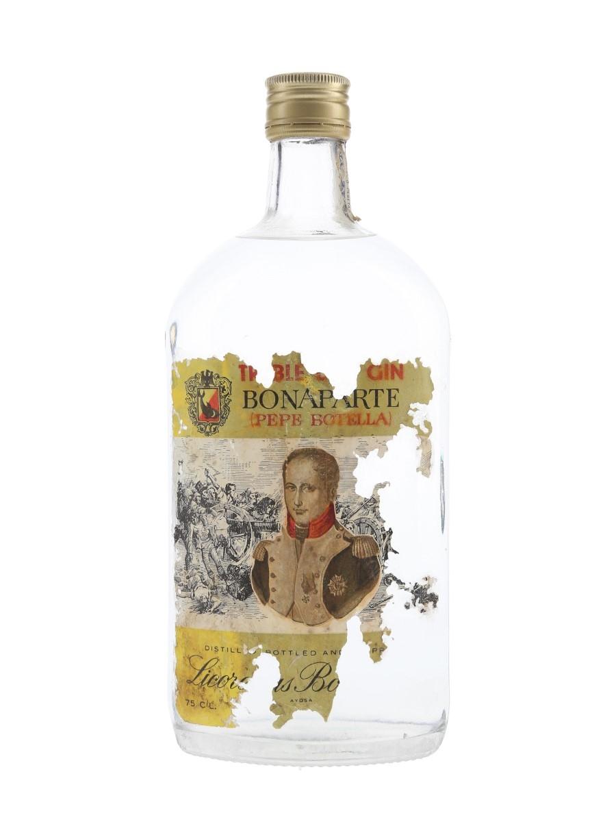 Licorerias Bonaparte Treble Dry Gin Bottled 1970s-1980s 75cl