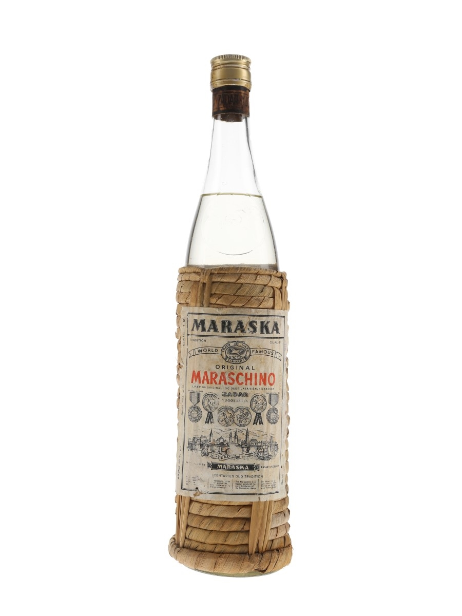 Maraska Maraschino Original Bottled 1960s 100cl / 32%