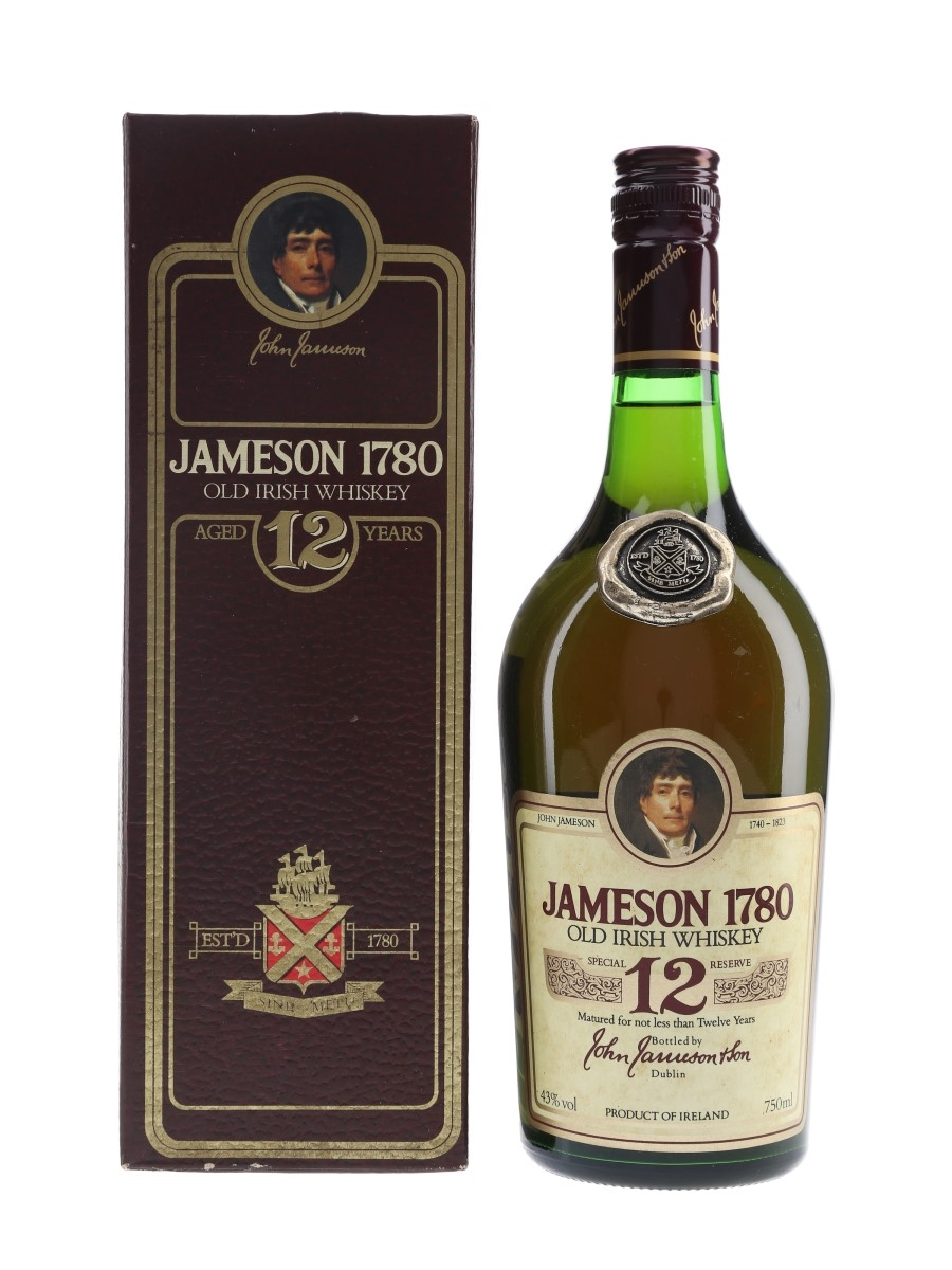 Jameson 1780 12 Year Old Bottled 1980s 75cl / 43%