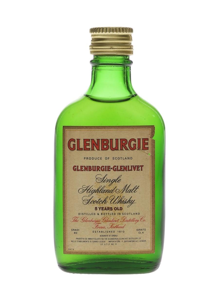 Glenburgie Glenlivet 5 Year Old Bottled 1970s - Soffiantino 4cl / 40%