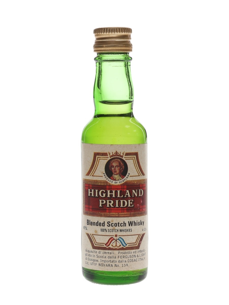 Highland Pride 3 Year Old Closed Stock Bottled 1970s - Cosac 4 cl / 43%