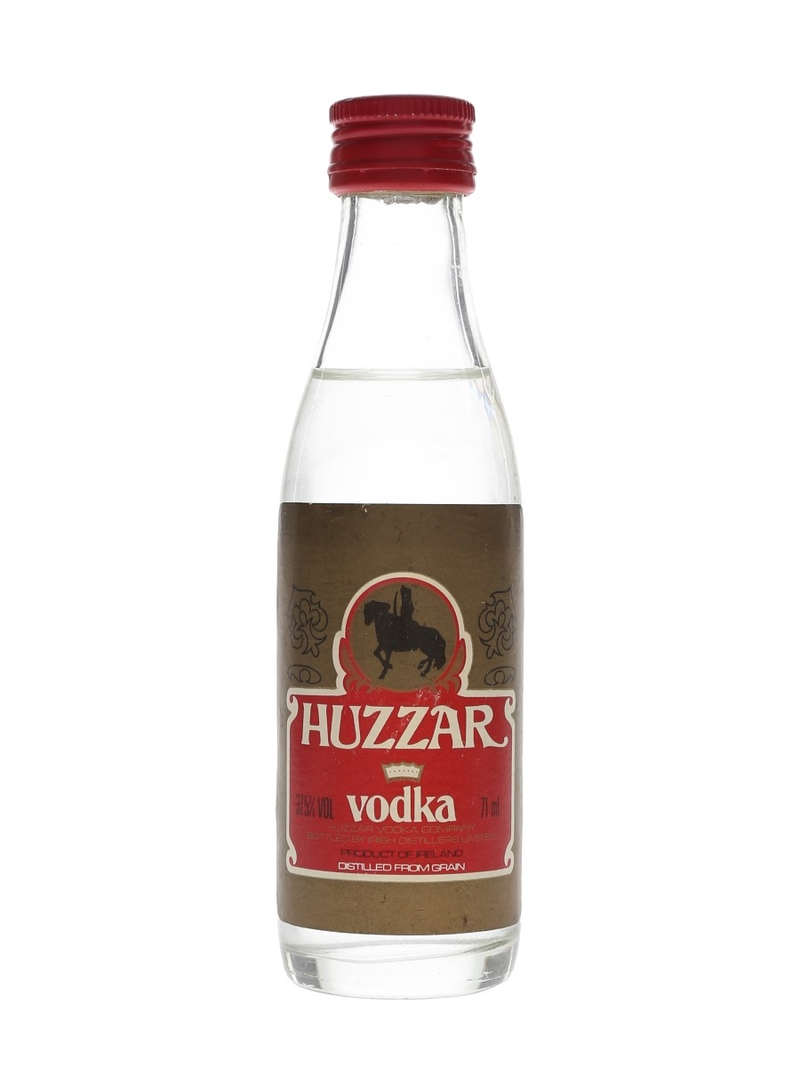 Huzzar Vodka Bottled 1980s 7.1cl / 37.5%