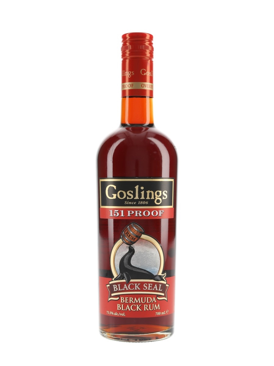 Goslings Black Seal 151 Proof  70cl / 75.5%