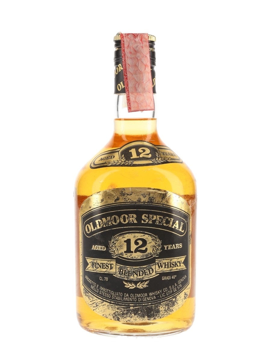 Oldmoor Special 12 Year Old Bottled 1990s 70cl / 40%