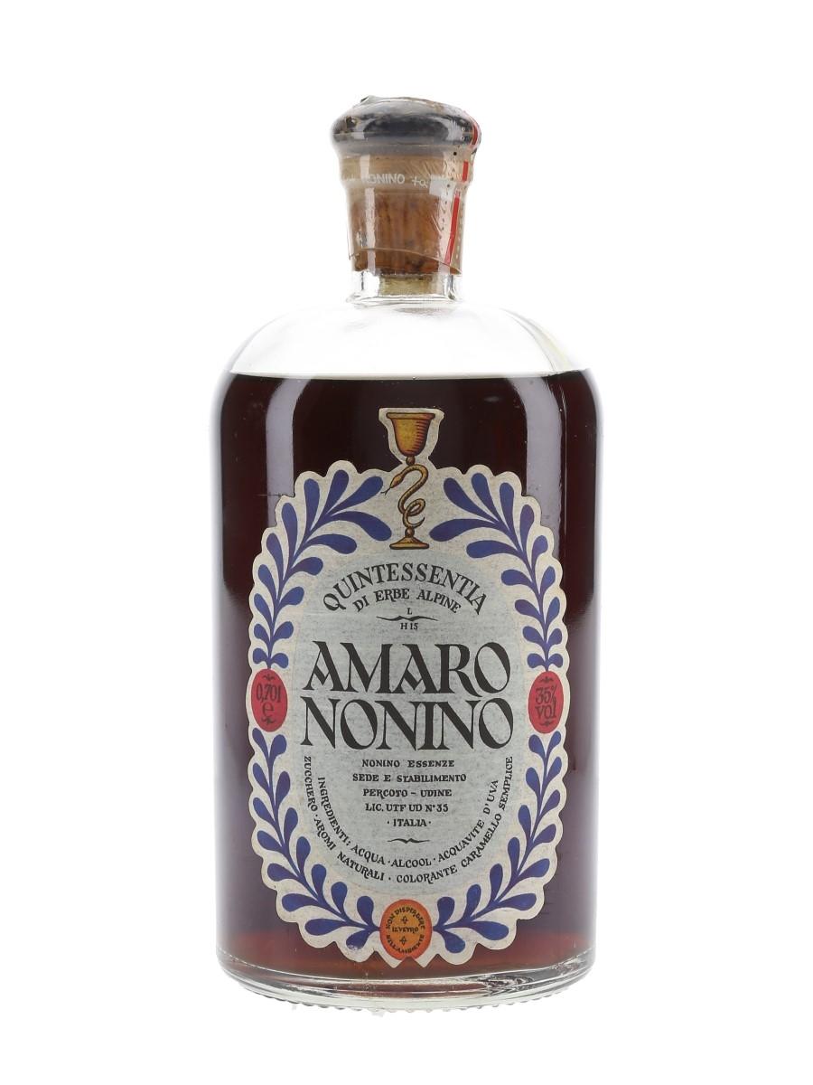 Amaro Nonino Quintessentia Bottled 1990s 70cl / 35%