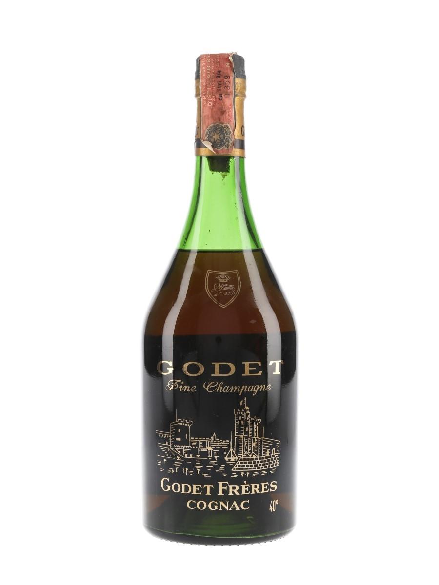 Godet Fine Champagne Cognac Bottled 1970s - Giorgio Barbero 75cl / 40%