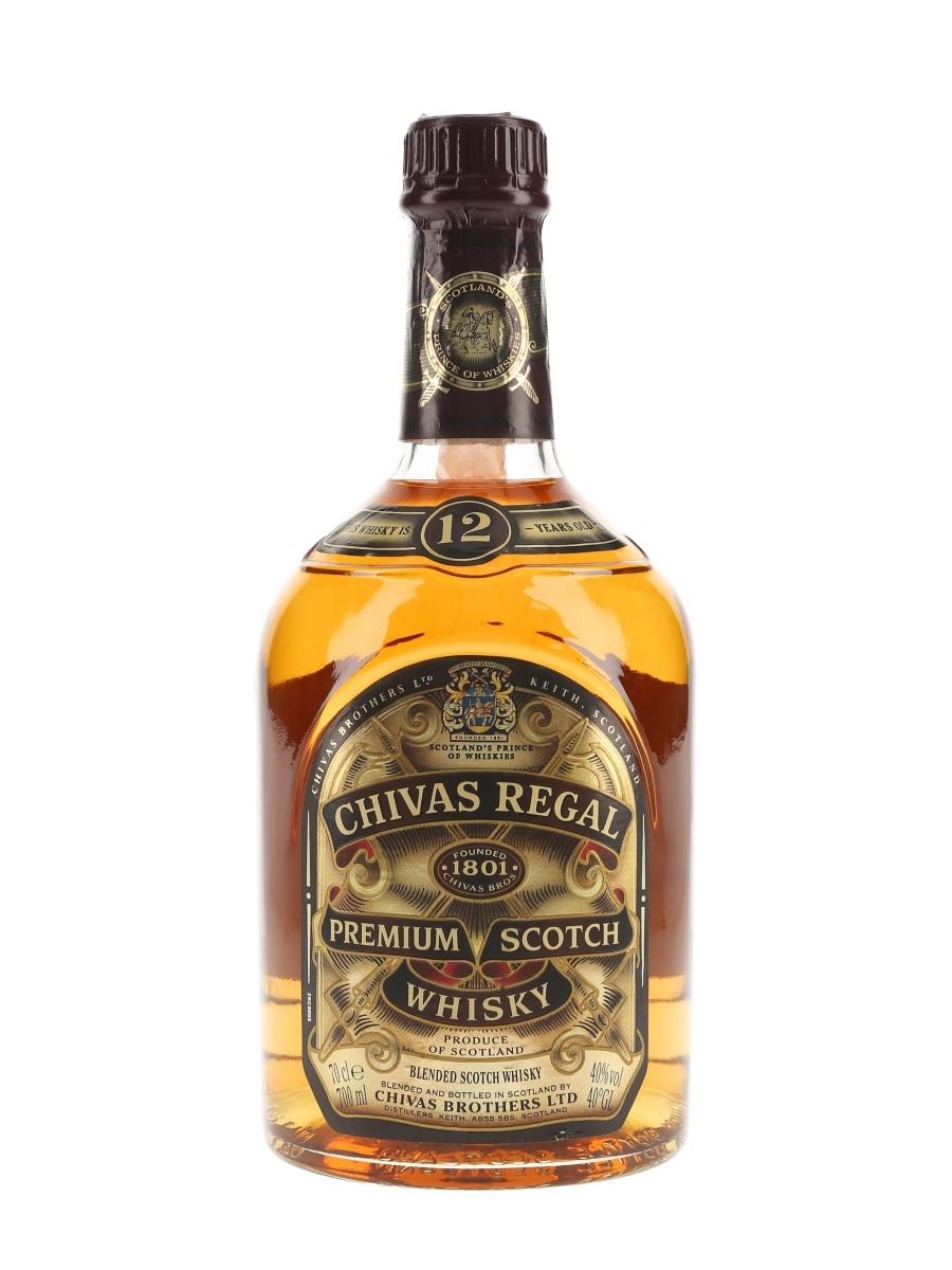 Chivas Regal 12 Year Old Bottled 1990s 70cl / 40%