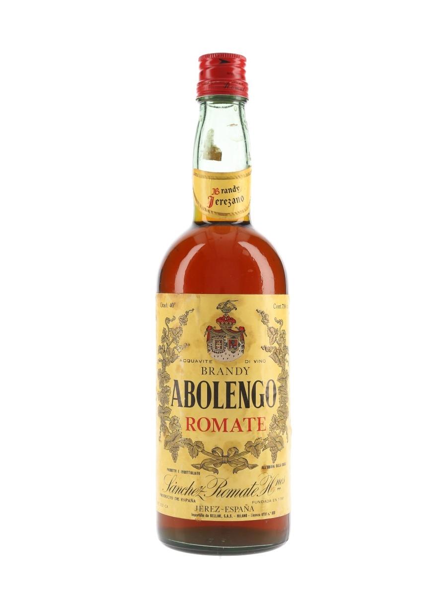 Sanchez Romate Abolengo Brandy Bottled 1960s - Securo Cap 75cl / 40%
