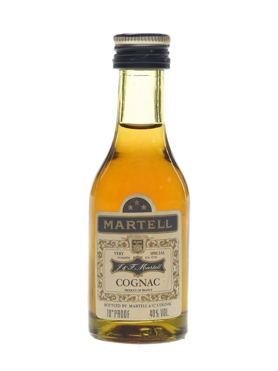 Martell 3 Star VS Bottled 1970s-1980s 3cl / 40%