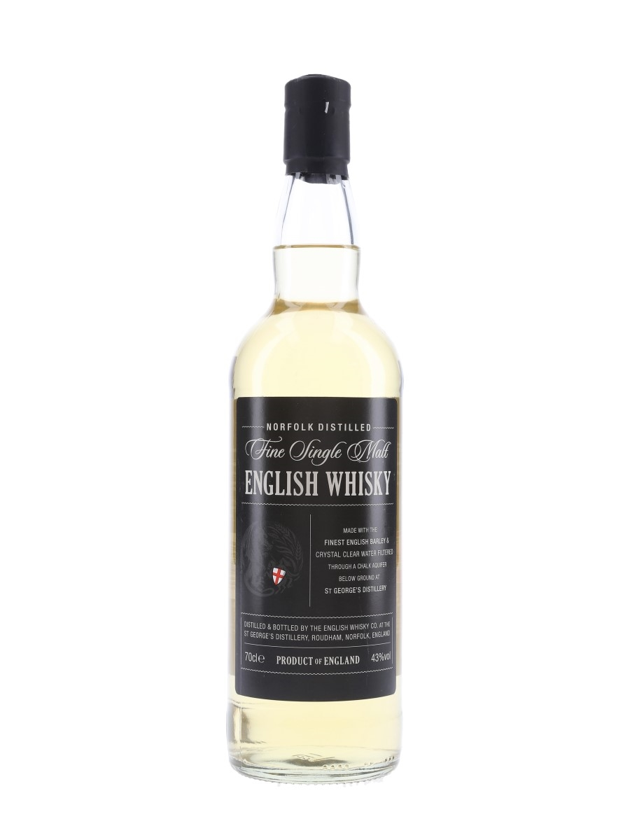 St George's Distillery English Whisky The English Whisky Co. 70cl / 43%