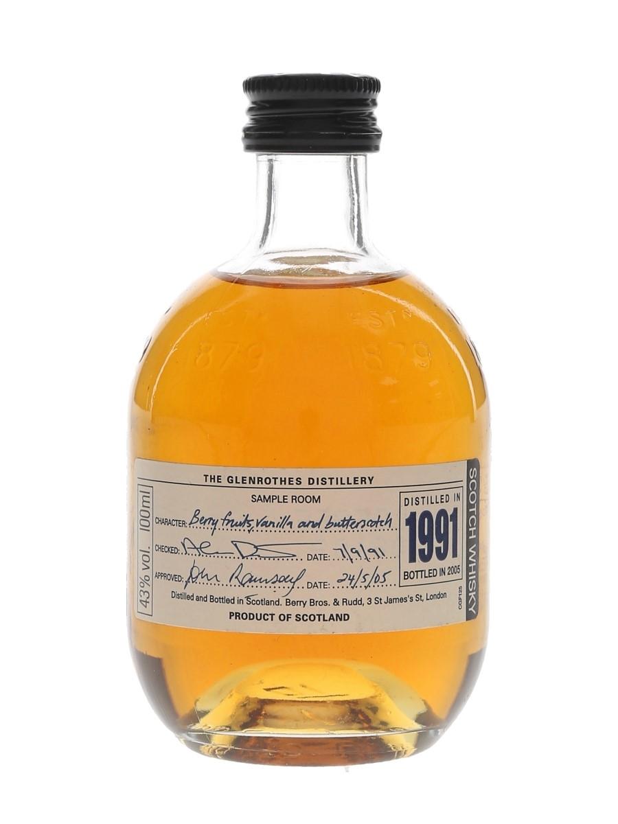 Glenrothes 1991 Bottled 2005 10cl / 43%