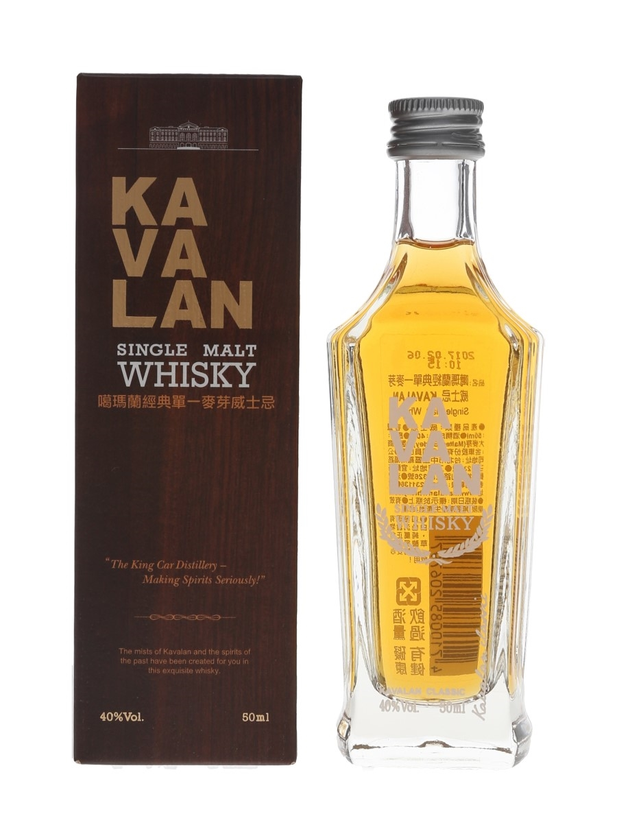 Kavalan Classic Bottled 2017 5cl / 40%