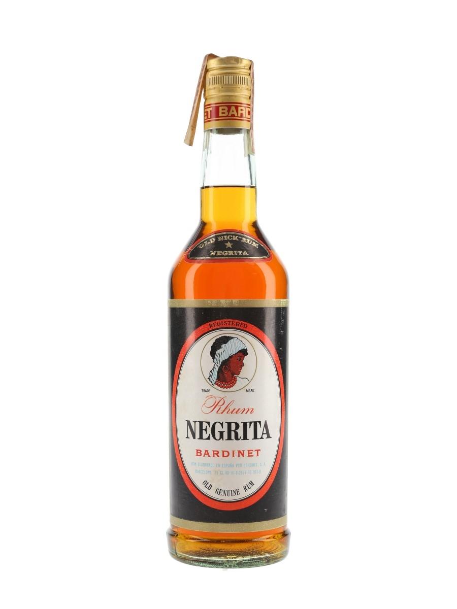 Bardinet Negrita Rhum Bottled 1970s 75cl / 40%